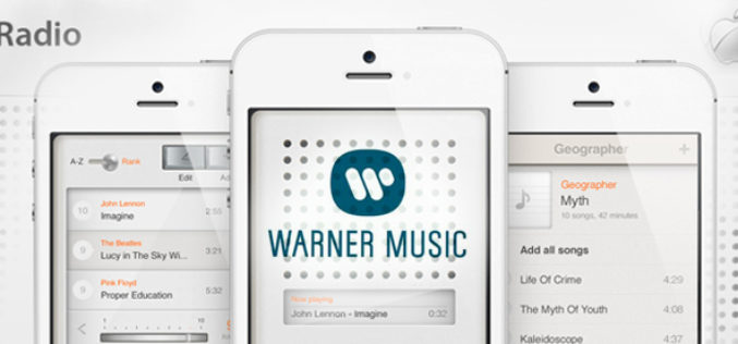 Apple signs deal with Warner for streaming music: iRadio