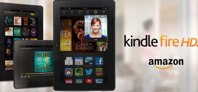 Amazon presenta la tableta Kindle Fire HDX