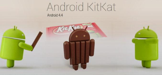 Android 4.4 Kit Kat targets Google