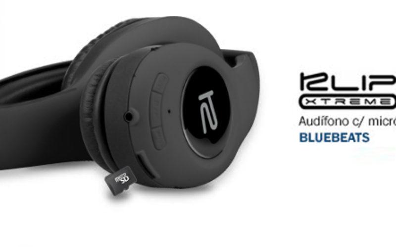 Klip Xtreme lanza en Chile sus auriculares BlueBeats