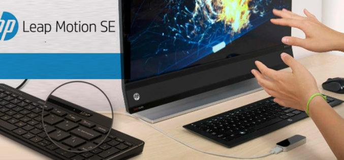 HP anade Leap Motion a sus teclados