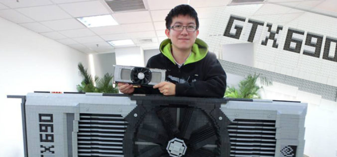 Nvidia fan builds GeForce GTX 690 card