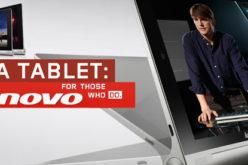 Lenovo presenta dos modelos de la tableta Yoga