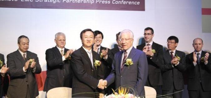 Lenovo and EMC create LenovoEMC Joint Venture