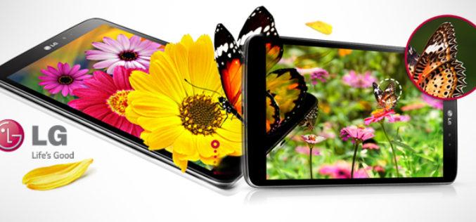 LG estrena nuevos modelos de tablets G Pad