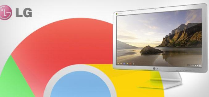 LG presentara su Chromebase en la feria CES