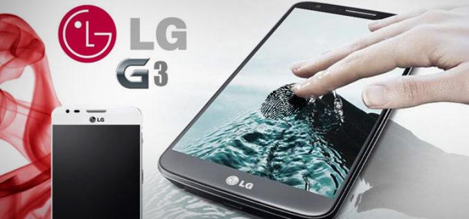 El LG G3 podria incorporar un escaner dactilar