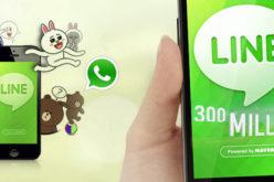 LINE supera los 300 millones de usuarios
