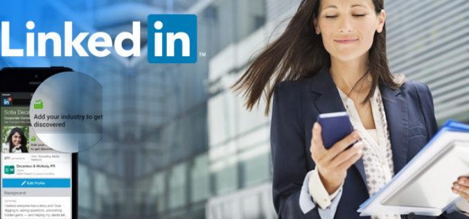 LinkedIn redisena perfil movil para tablets y smartphones