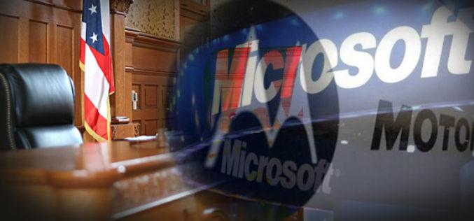Microsoft demanda a Aduanas de EE.UU por no frenar las importaciones de Motorola