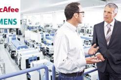 McAfee y Siemens se unen para oferta de seguridad