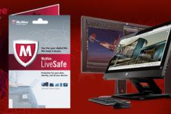 McAfee LiveSafe vendra preinstalado en los computadores HP