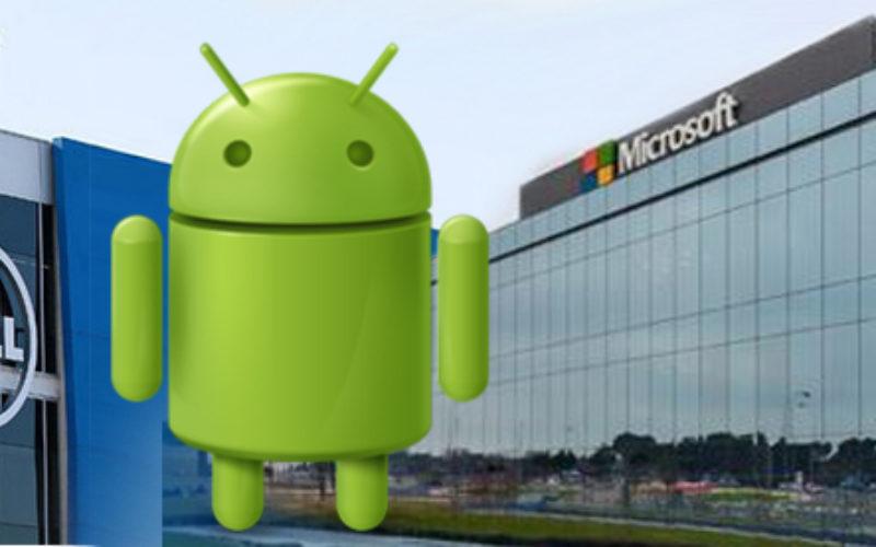 Microsoft y Dell sellan acuerdo de licencias