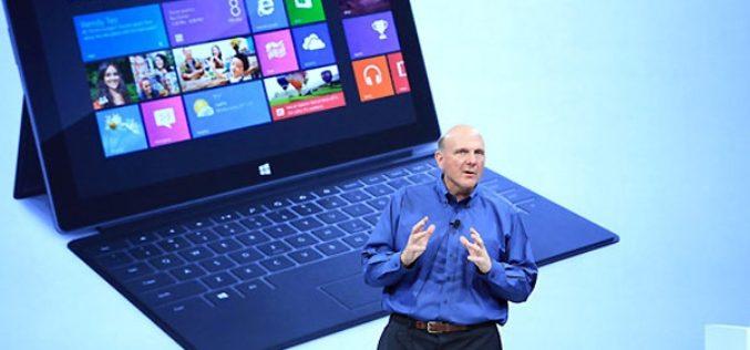 Microsoft reconoce que demoro en ingresar al sector de las tablets