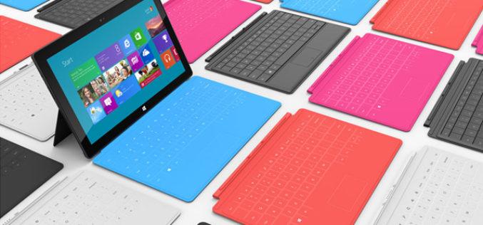 Microsoft esta trabajando en una Surface de 7 pulgadas