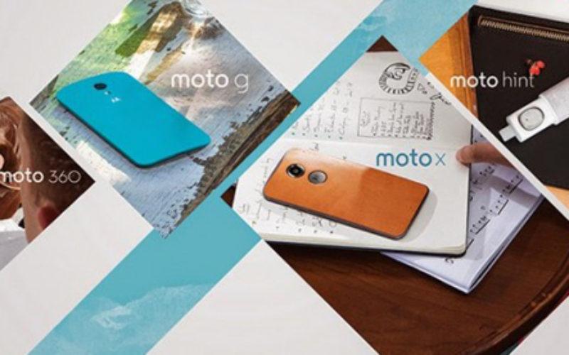 Nuevos Motorola Moto X, Moto G y Moto Hint