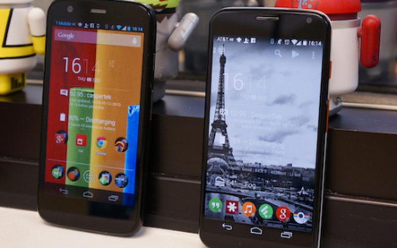 Los nuevos Moto X y Moto G ya estan disponibles a traves de Telcel