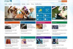 Nuevo diseno de MSN para Windows 8