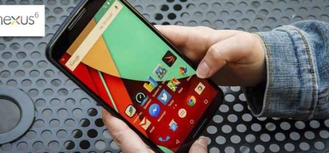 Google y Motorola presentan el nuevo Nexus 6