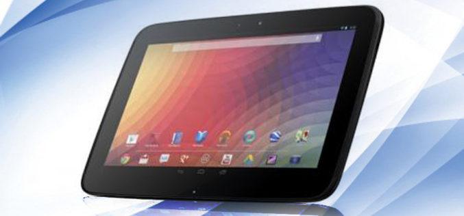 Google desafia al iPad con Nexus 10