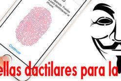El Touch ID del iPhone 5S recopila huellas dactilares para la NSA