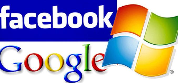Google, Microsoft y Facebook quieren reducir costos de Internet