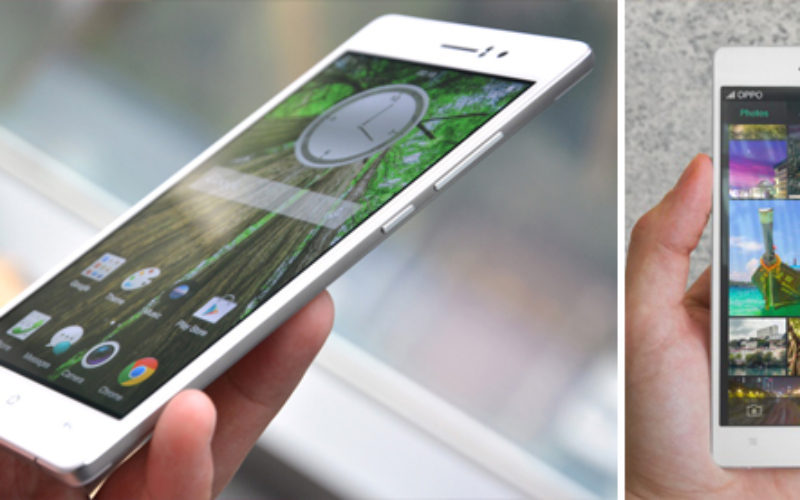 Oppo R5: el smartphone mas delgado del mundo