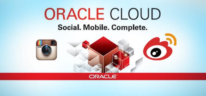 La Nube Social de Oracle Adiciona Soportes para Instagram y Weibo