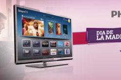 Philips TV lanza un nuevo modelo de TV para el dia de la madre