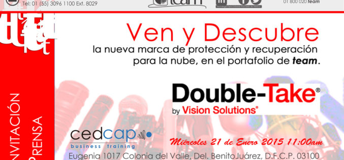 Vision Solutions presenta Double Take