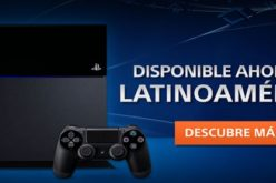 La PlayStation 4 ya esta disponible en toda Latinoamerica