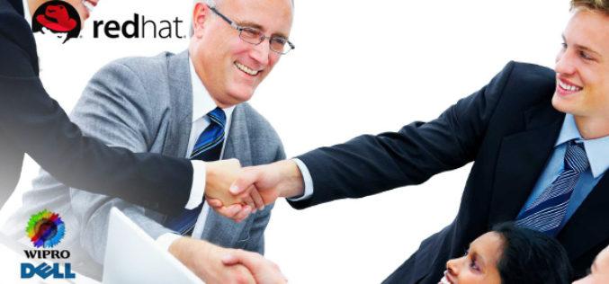 Red Hat anuncia alianza con Wipro y Dell