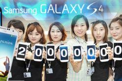 Samsung vende 20 millones de Galaxy S4 en menos de dos meses