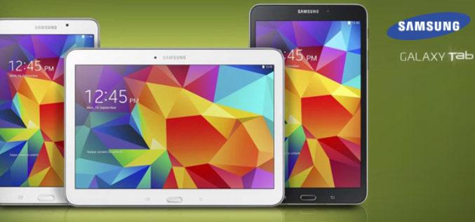 Las tablets Galaxy Tab4