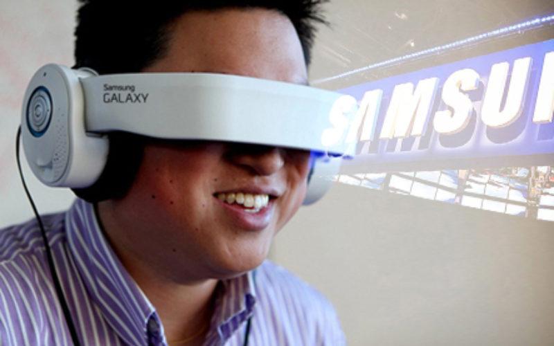 Samsung trabaja en un casco de realidad virtual