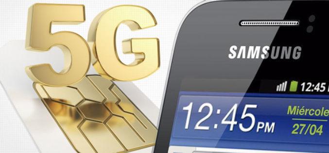 Samsung espera tener listo el servicio movil de quinta generacion 5G