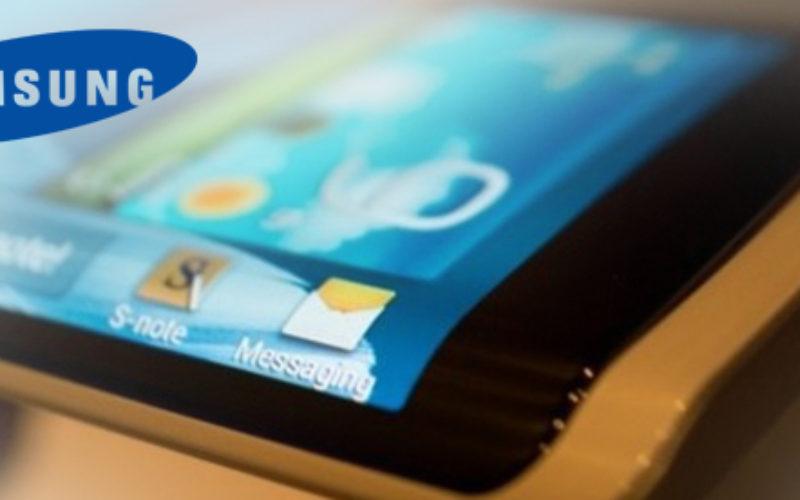 Samsung planea lanzar moviles con pantallas de tres lados