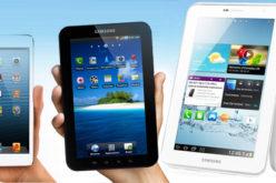 Samsung provee maxima satisfaccion de tabletas