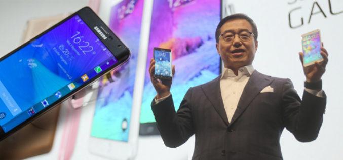 Samsung presento los nuevos modelos de su linea Galaxy Note
