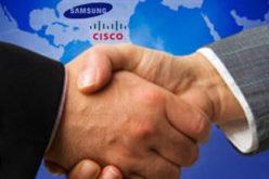 Acuerdo de Cisco con Samsung