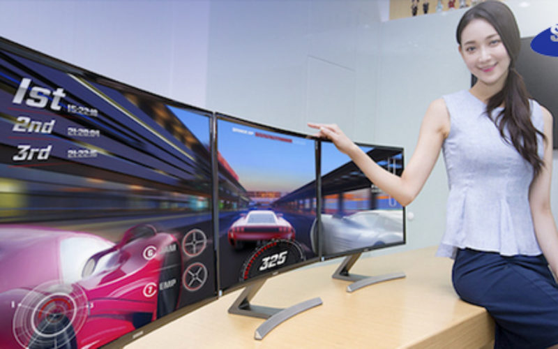Samsung estrena nuevo monitor curvo Full HD de 27 pulgadas