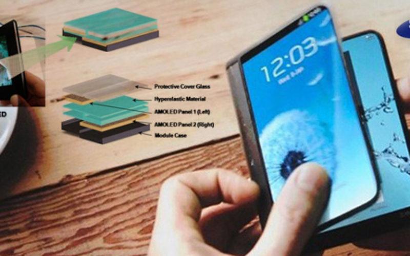 Samsung ofrecera moviles con pantalla plegable