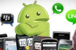 Los envios de mensajes a traves de Apps de chat superan a los SMS por primera vez