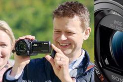 La nueva Handycam de Sony ofrece un formato compacto