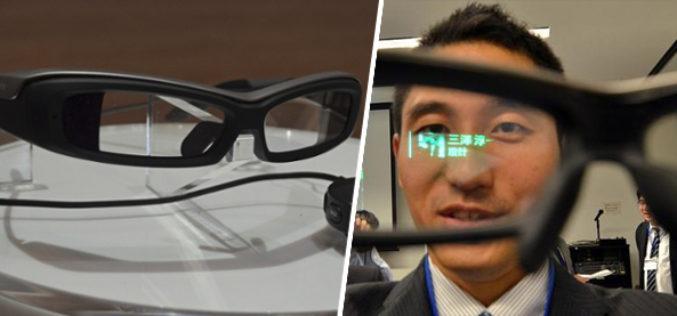 Las gafas inteligentes de Sony