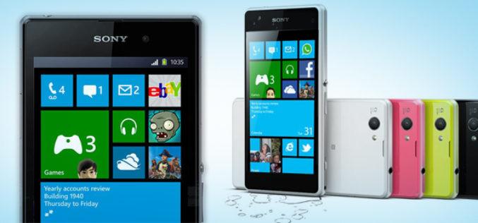 Sony planea lanzar smartphones con Microsoft