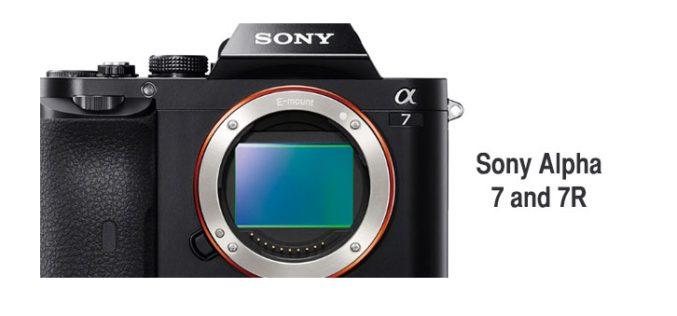 Las camaras Alpha 7 y 7R de Sony llegan al mercado