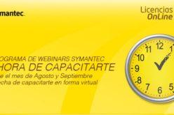 Symantec realizara Webinars de capacitacion