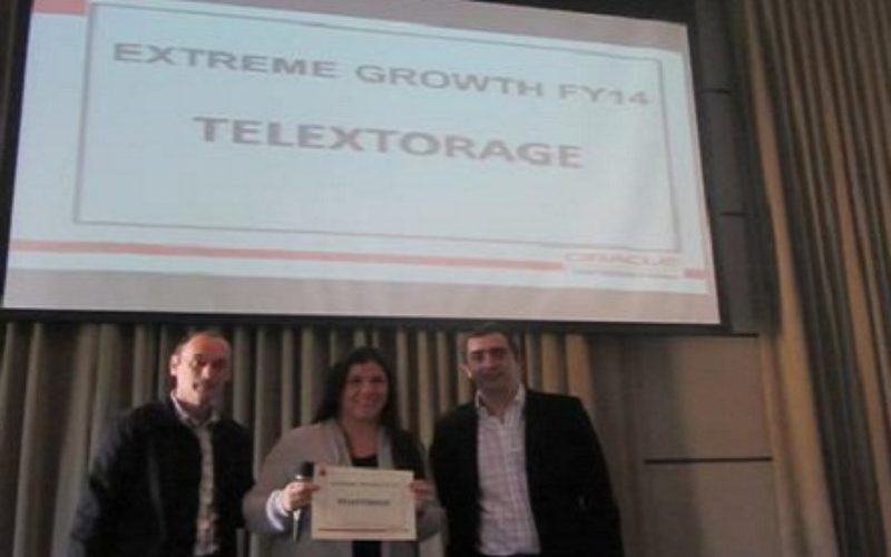 TelexTorage distinguida por Oracle