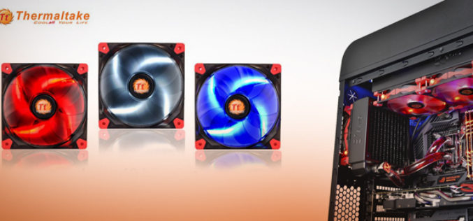 Thermaltake announces Luna and Pure Series